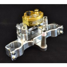 XRs Only Competition Triple Clamp W/ Scott Stabilizer Kit - Honda XR650R (Sliver Triple Clamp)