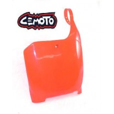 """""""BLOW-OUTS"""" Cemoto Number Plate, CR125, CR250 (00-03) CRF450 (02-03) CR RED"""
