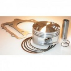 JE Pistons Honda CRF450R CRF450X Piston Kit - 468cc / 98mm / 12.5:1 Compression