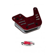 XRs Only Chain Guide - 3 Hole - Honda XR250R / XR400R / XR600R / XR650R / XR350R (1985) - RED