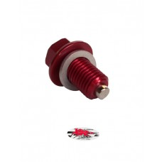 XRs Only Magnetic Oil Drain Plug - Frame - RED