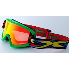 X BRAND LIMITED GOGGLES, XXX FLO GREEN